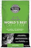 World's Best CAT LITTER 6.35KG - ECO FRIENDLY - FLUSH-ABLE ODOUR CONTROL (1X)
