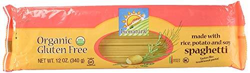 Bionaturae Organic Gluten Free Spaghetti Pasta, 12 Ounce - 12 per case. (4 Pack (12 Count))