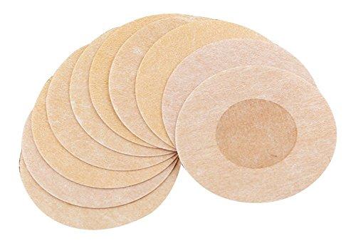 Butterme 15 Paare runden Adhesive No Show Wegwerfbrustblumenblatt Pastete Nippel Abdeckungs Pad Patches für Damen Umstands