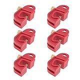 6pcs Bloqueos de Interruptores Automáticos Cerraduras de Disyuntores en Miniatura para Circuito Universal 8mm