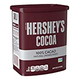 Hershey's Natural Unsweetened 100% Hot Cocoa, Baking, 23 Ounce Can