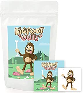 Bigfoot Guts Gummi - Unique Halloween & Birthday Teen, Boy and Girl Gag Gift Candy