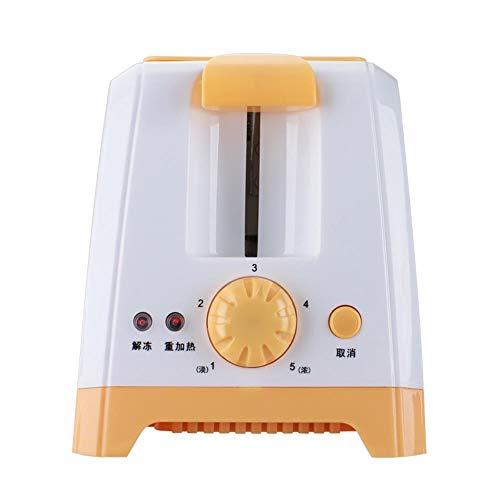 Tostadas tostadora automática de la máquina eléctrica horno de cocción Cocina Desayuno 2 rebanadas de pan multi máquina tragaperras enchufe de la UE,Naranja sin cobertura
