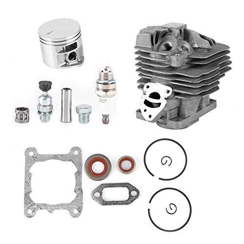 Redxiao 【𝐕𝐞𝐧𝐭𝐚 𝐑𝐞𝐠𝐚𝐥𝐨 𝐏𝐫𝐢𝐦𝐚𝒗𝐞𝐫𝐚】 Kit de carburador de pistón de Cilindro, Kit de Junta de pistón de Cilindro de Repuesto para Stihl MS261 Motosierra Accesorios