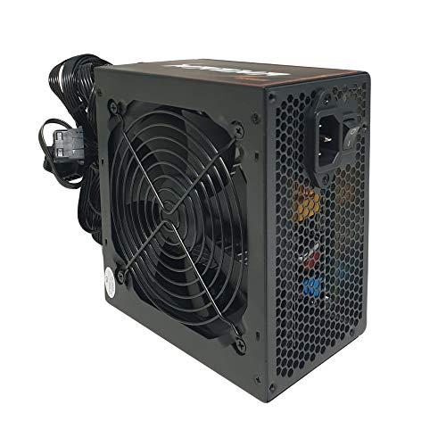 Noua Magma GR55 550W Alimentatore ATX Pc Desktop da Gaming 550 Watt 80 Plus Bronze con Ventola 120 mm PFC Attivo, Garanzia Italia 2 Anni