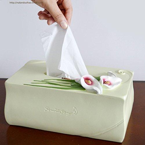 en Tant Que Distributeur De Serviettes en Papier XZANTE La Boite en Bambou De 7,5 X 24 X 12 Cm Peut Etre Utilisee pour Les Mouchoirs en Papier