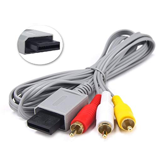 Wii Audio Video Cable, Audio Vid...