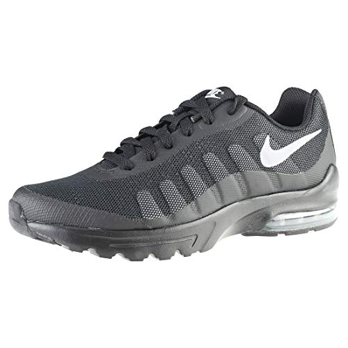 Nike Air Max Invigor (GS), Chaussures de Running Homme, Noir (Black/Wolf Grey), 38.5 EU