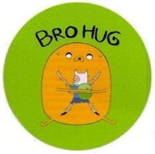 Hot Properties Adventure Time Bro Hug 1.25 Inch Botón
