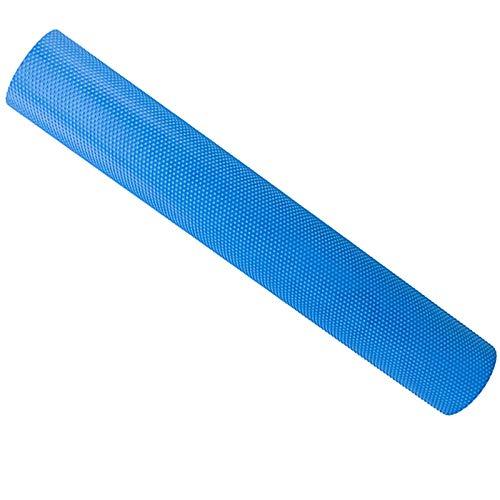 KDOAE Rodillo de Espuma Eje de Espuma de Columna EVA Yoga Adecuada para el hogar y el Gimnasio 60 cm / 90 cm sólido Flotante para Hacer Ejercicio en Casa (Color : Blue, Size : 15x90cm)