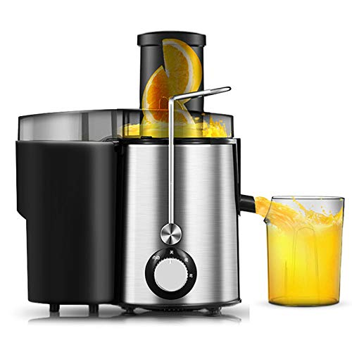 Mokylor Juicer Wide Mouth Juice Extractor, Multiple Speed management Easy Clean Juicer Machines with Stainless Steel Juice Machine for Vegetables and Fruits