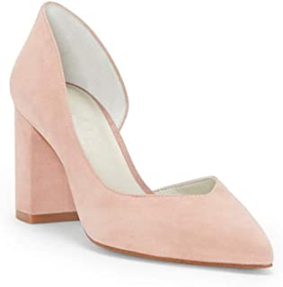 1.STATE Womens 1S-Sisteen Leather Pointed Toe Classic Pumps US