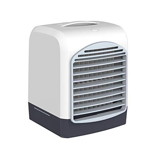 N/F Portatile Evaporativo Air Cooler con Maniglia, 3 in 1 USB Mini Personal Air Conditioning Air Cooler Aromaterapia, Mute Purificatore D'aria, Umidificatore Ventola Fredda per la Casa