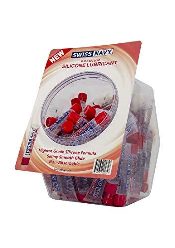 Zwitserse marineblauwe siliconen smeermiddel, 10 ml, visschaal, 100 stuks
