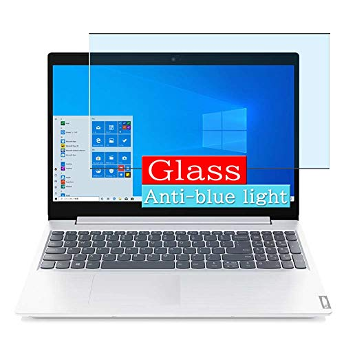 VacFun Filtro Luz Azul Vidrio Templado Protector de Pantalla, compatible con Lenovo IdeaPad L360i 15.6 Visible Area Cristal Screen Protector(cobertura no completa)