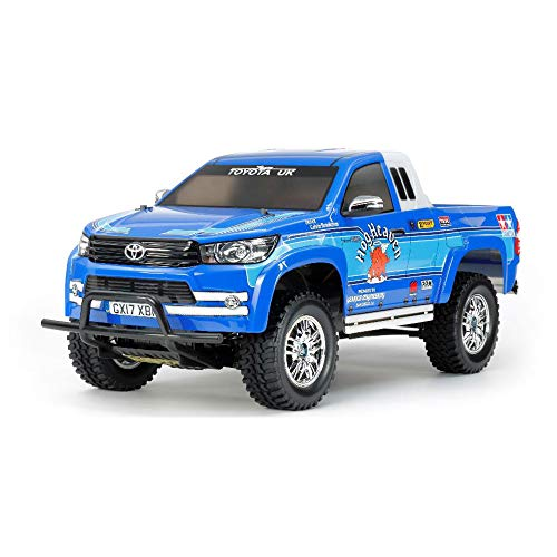 TAMIYA 58663 - 1:10 RC Toyota Hilux Extra Cab CC-01, ferngesteuertes Auto/ Fahrzeug, Modellbau, Bausatz, Hobby, Basteln, Modell, Zusammenbauen