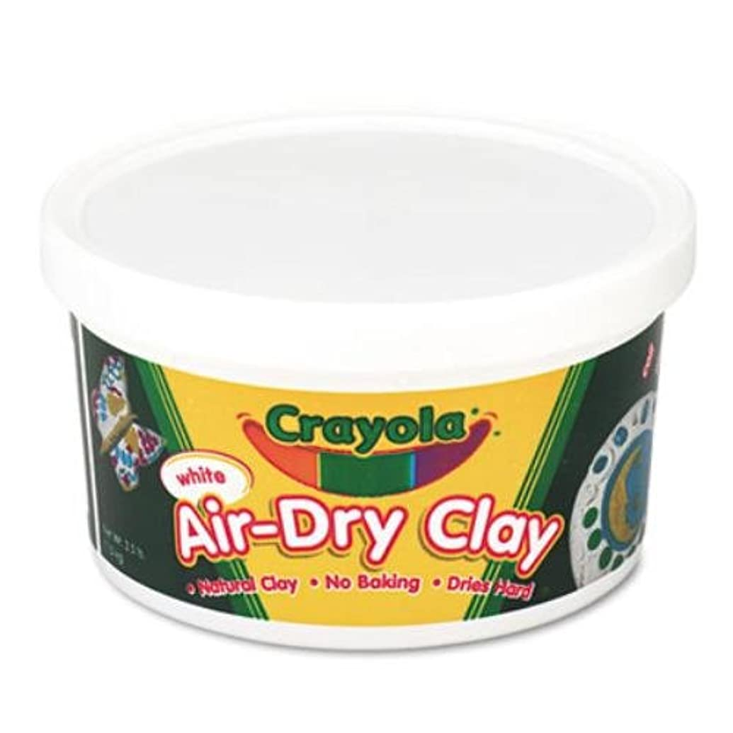 Crayola Air-Dry Clay 2.5lb-White