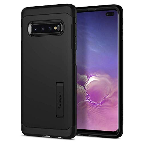 Spigen Cover Tough Armor Compatibilecon Samsung Galaxy S10 Plus - Black