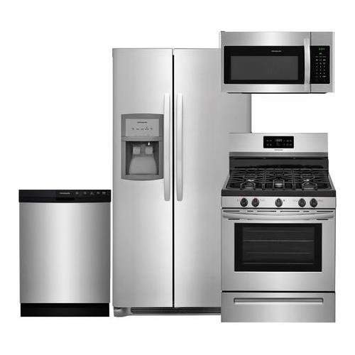 Frigidaire 4-Piece Stainless Steel Package