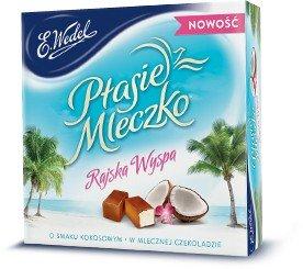 Ptasie Mleczko - Pralinen - mit Kokosgeschmack 380g von E.Wedel I Polnische Süßigkeiten