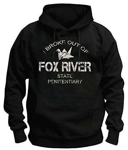 TSP Fox River Kapuzen-Sweatshirt Herren XXXL Schwarz