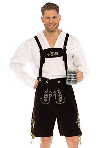 Leg Avenue 85476 - Oktoberfest Lederhosen Kostüm, Größe XL