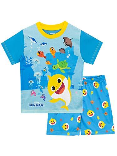 Baby Shark Pigiama per Ragazzi Blu 18-24 Mesi
