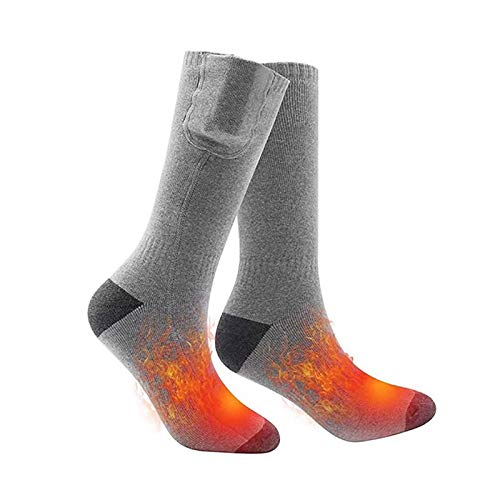 Heated Socks for Men Women, Rechargeable Washable Electric Heated Socks Battery Heated Socks for...