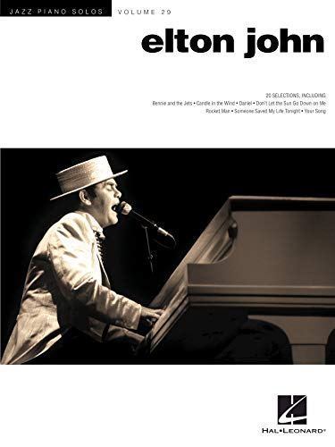 Elton John: Jazz Piano Solo Series Volume 29 (Jazz Piano Solos (Numbered)) (English Edition)
