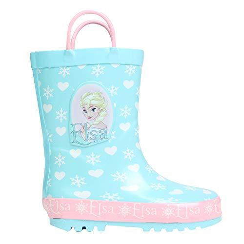 Character Kinder Maedchen Gummistiefel Regenstiefel Regenschuhe Stiefel Disney Frozen C6 (23)