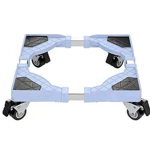 Base Móvil Lavadora 4 ruedas Multifuncional Rodillo