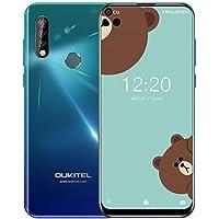 OUKITEL C17 Pro 4G Móviles(2019) Android 9.0 - Pantalla Completa de 6.35 Pulgadas de Agujero Ciego,4GB+64GB,Octa Core Dual SIM Smartphone, 13MP Cámara de Gran Ángular,3900mAh Batería,GPS,Crepúsculo