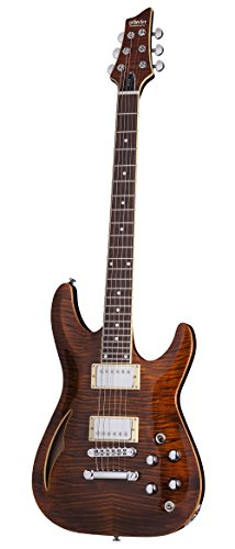 Schecter 640 Solid-Body Electric Guitar, Cat's Eye