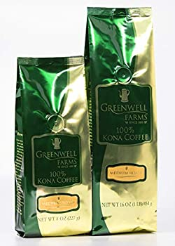 Greenwell Farms - 100% Kona Coffee - Medium Roast - 16oz - WHOLE BEAN