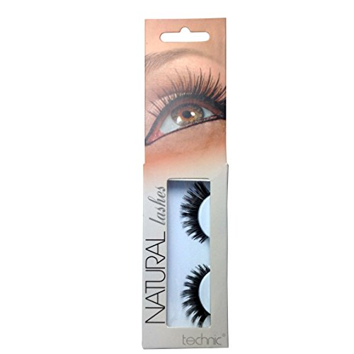 Technic Natural Lashes False Lashes With Adhesive-A13