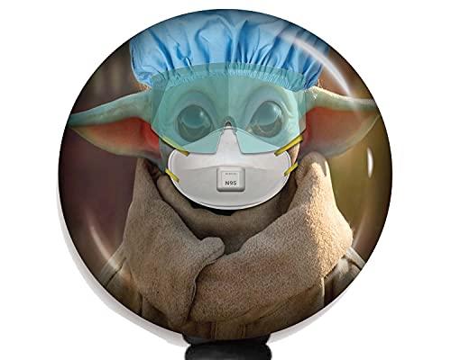 Baby Yoda Grogu N95 Badge Reel