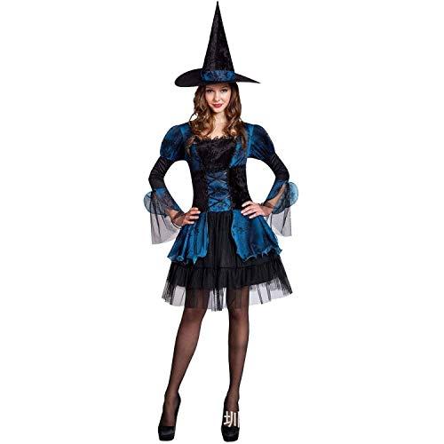 Disfraces de Halloween Cosplay Trajes for Mujeres, seora Diablo Juego de Vestir Traje de Bruja de Halloween Vestidos de Traje (Size : Small)