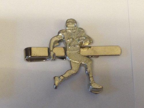 GIFTS FOR ALL Krawattennadel American Footballer Quarterback Football, 2,5 cm x 4 cm, GT18, aus feinem englischen Zinn