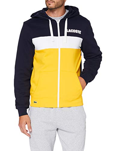 Lacoste Herren Sh1506 Pullover, Marine/GUEPE-GUEPE-Blanc, 5