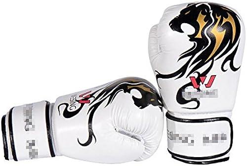 PLYY Gants de Boxe Fitness Fight Confortable Profession Jeu 12OZ PU Matériel