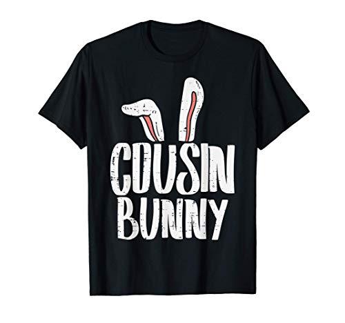 Cousin Bunny Ears Easter Family Matching Boys Girls Kids Camiseta