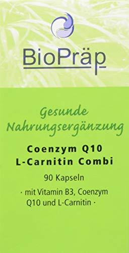 BioPräp Q10 & L-Carnitin Kaps. 90St.
