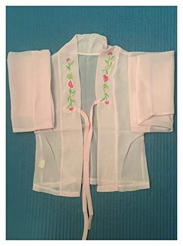 DEALBUHK Disfraz de hada hadita china para nias de Hanfu con diseo de hada y guzheng, para mostrar la belleza de lo clsico (talla L: L)