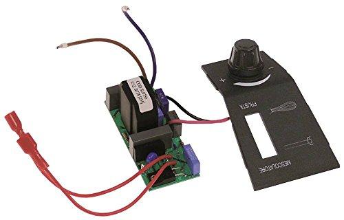 Placa con Potenciómetro, apta para Bartscher para batidora FM3230V también válido para fimar