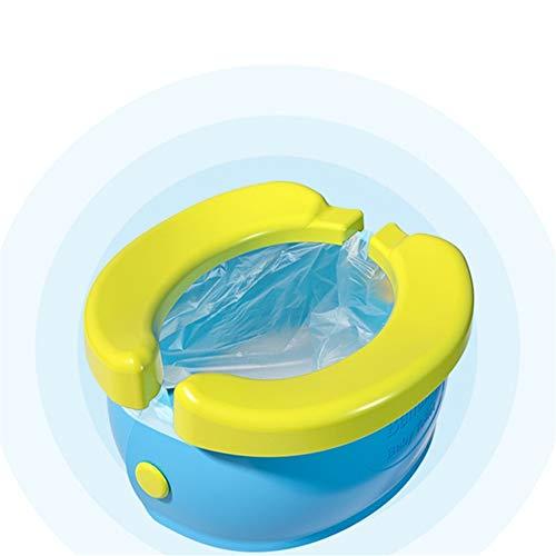 LVJUNQ Asiento de Entrenamiento Multifuncional portátil Plegable para IR al baño, Respetuoso con el Medio Ambiente, el máximo es de 50 Libras, Adecuado para Viajar, Acampar, al Aire Libre