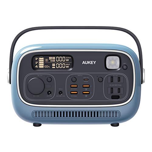 オーキー  充電器 ポータブル電源 Power Studio 300 297wh ブルー PS-RE03 BU