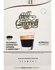 Koffie Carbonelli Compatibel cups Lavazza a modo mio®