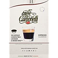 120 Cápsulas compatibles Lavazza a modo mio - Caffè Carbonelli mezcla clásica - espresso napolitano