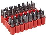 Rolson - Juego de puntas de destornillador (33 unidades)