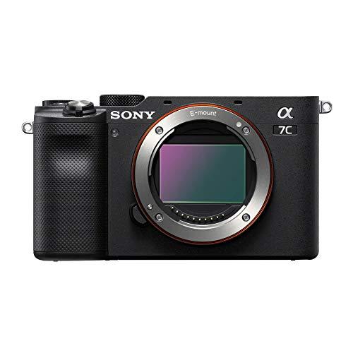 Câmera Fotográfica A7C Body Sony Preta